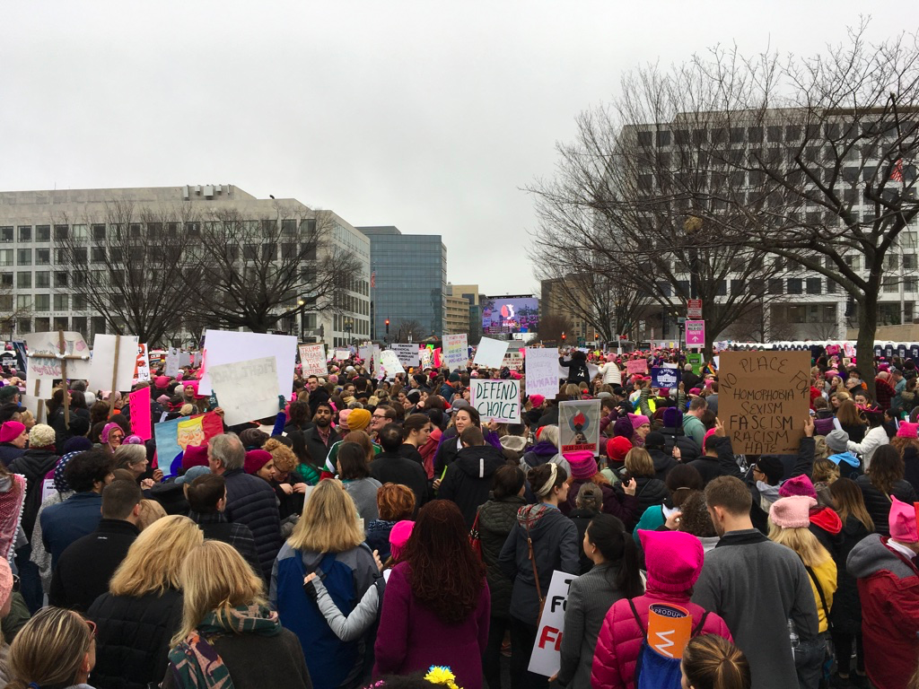 Carrboro Students Represent at D.C. Marches