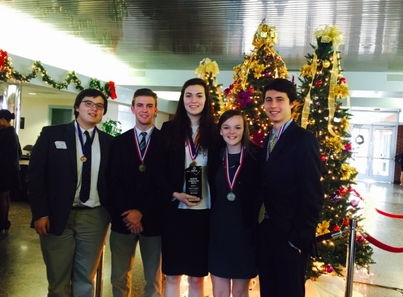 DECA members are decorated winners