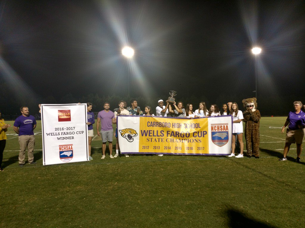 CHS receives sixth consecutive Wells Fargo Cup