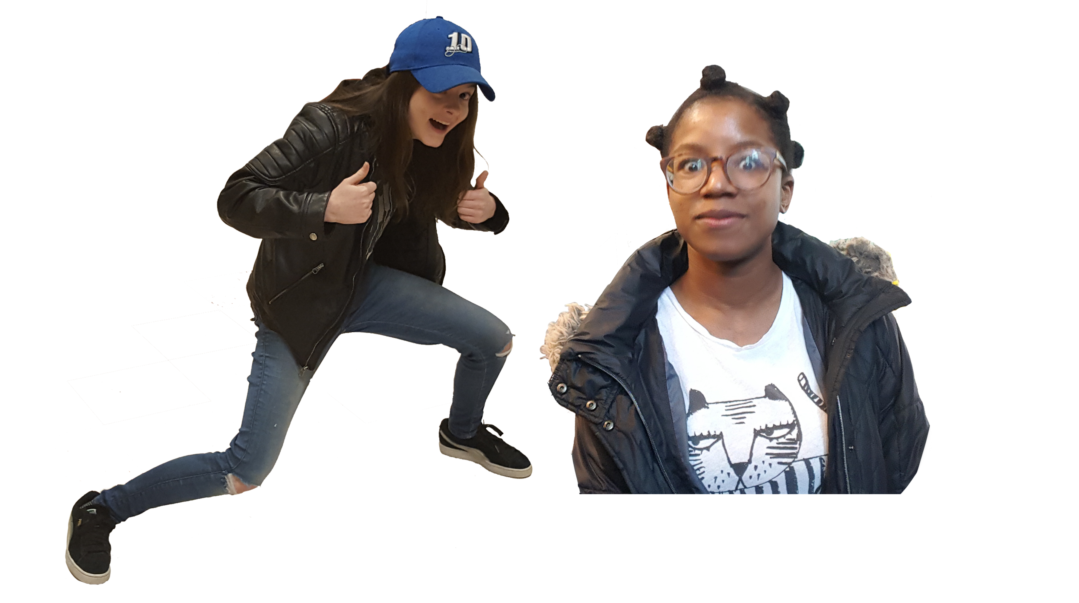 Student Spotlight: Saige Elms and Jasmine Godfrey, Visual Artists