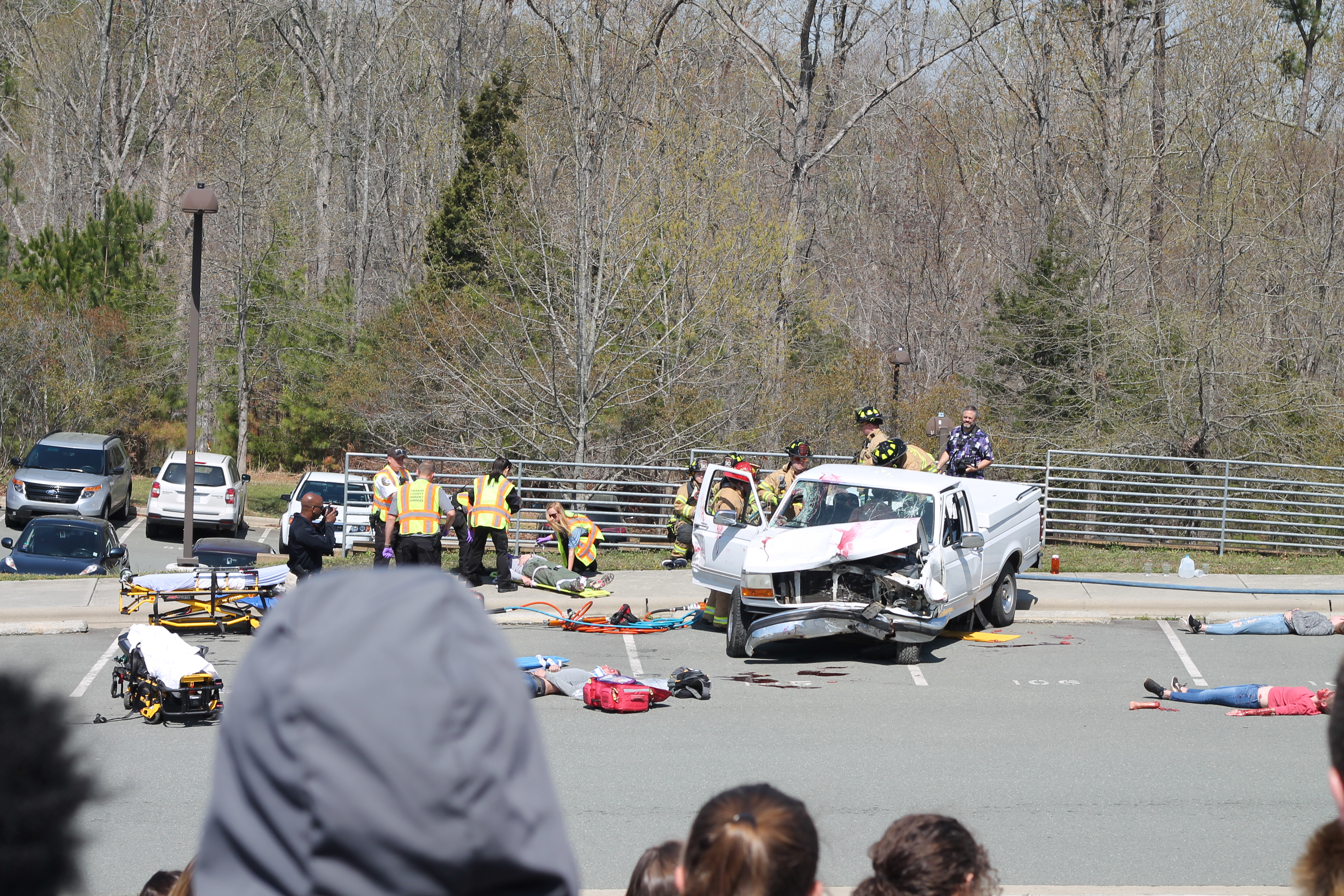 Mock Crash shows dangers of impaired driving
