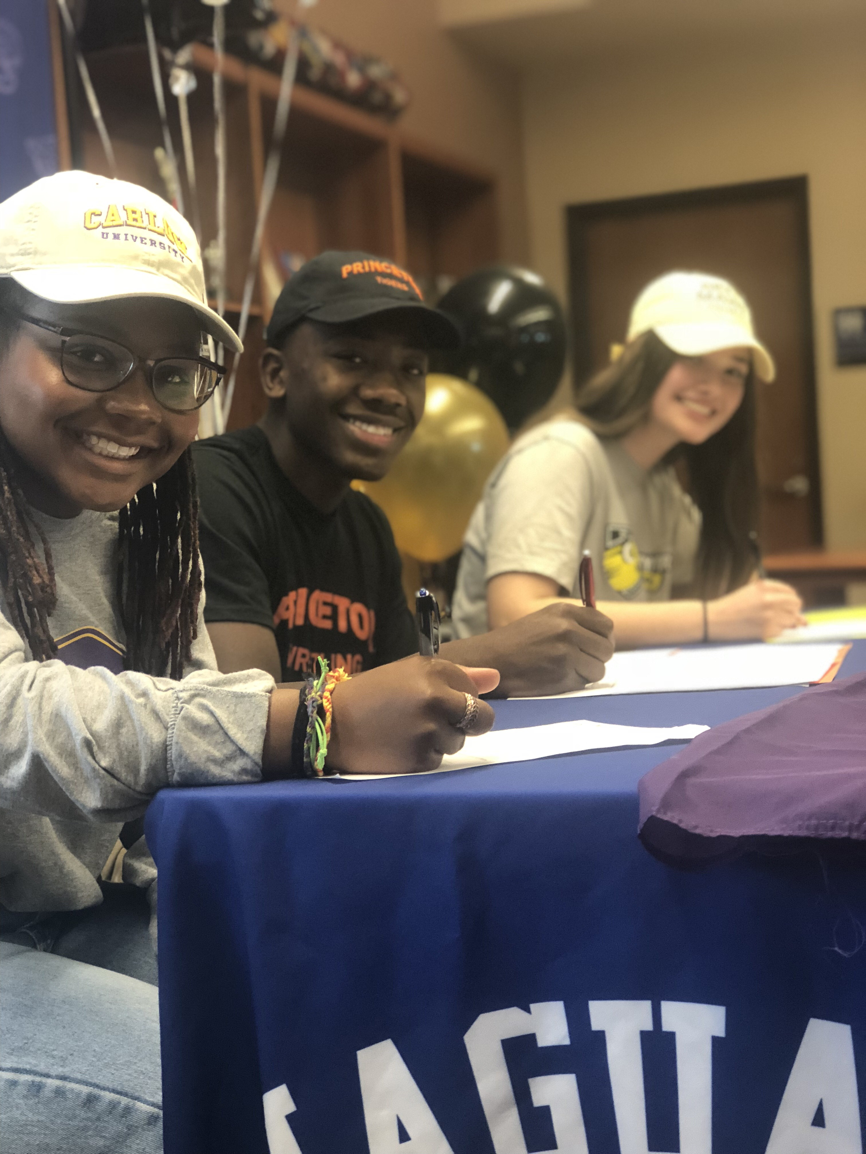 Student Athletes Commit to College