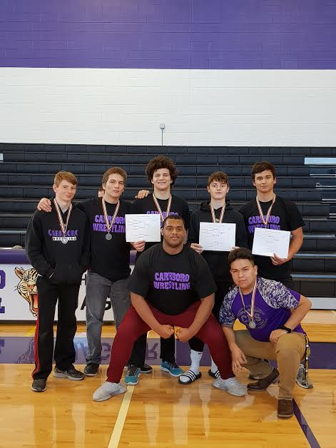 CHS wrestles at Conference tournament