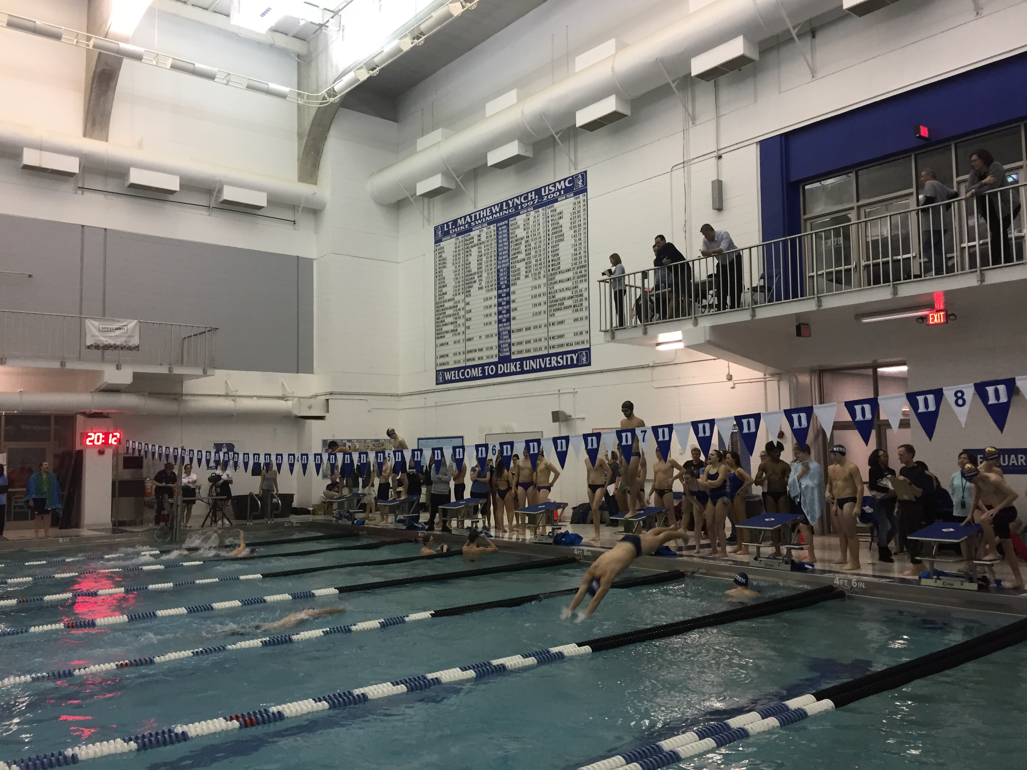 Swimming brings home Conference Championship