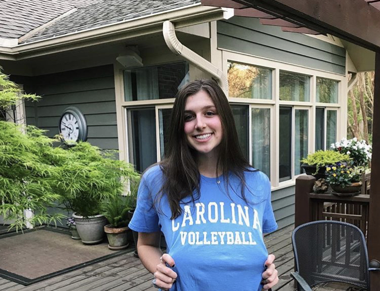 Overbeck commits to UNC volleyball