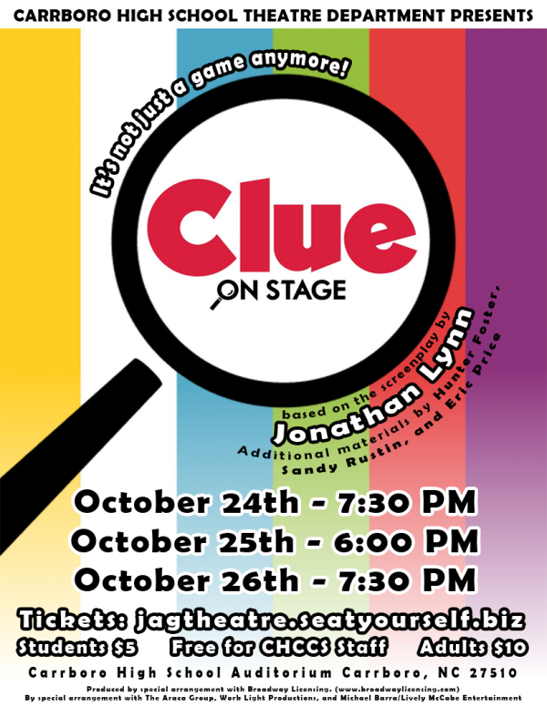 A sneak peak at Carrboro's fall play, Clue