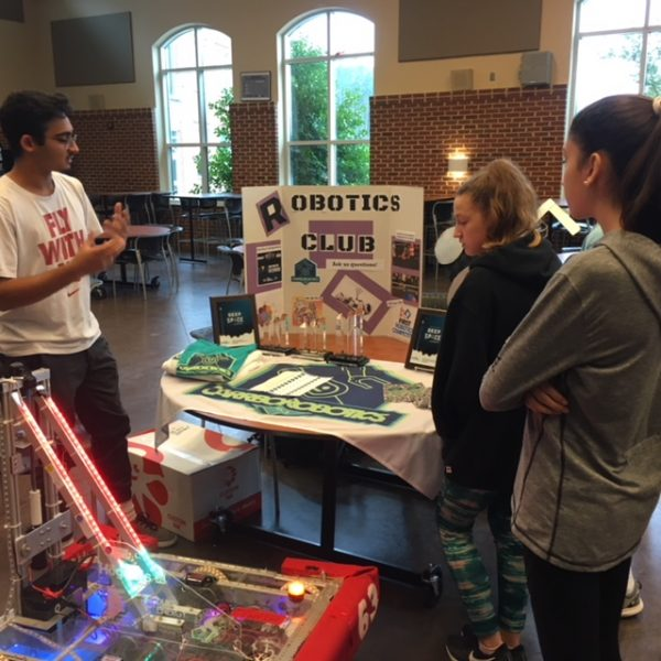 Rising freshman explore Carrboro's CTE options