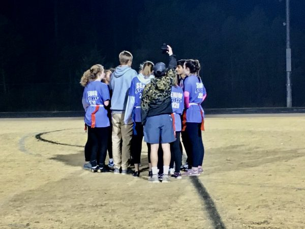 Seniors Capture 2019 Powderpuff Game