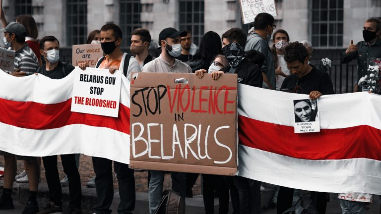 Massive protests in Belarus following their presidential election